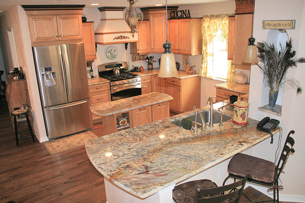 Granite kitchen countertop colors & Granite countertops for homeowners who want something durable ...