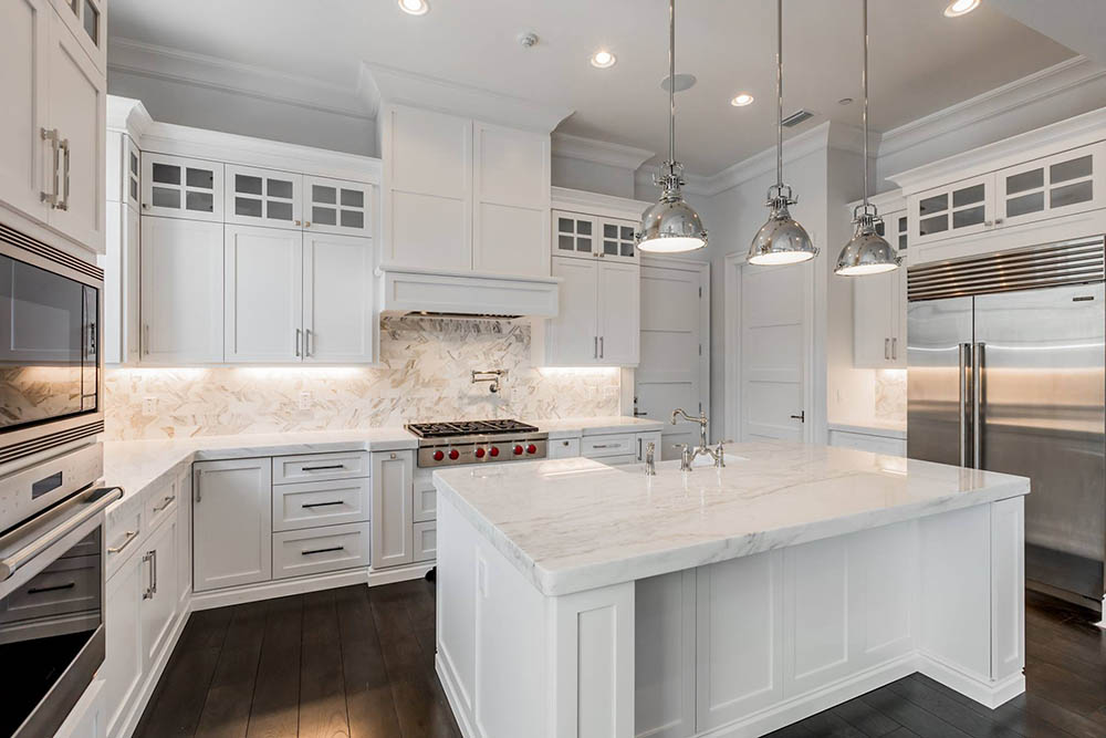 Marble kitchen countertops: classic elegance and modern ...