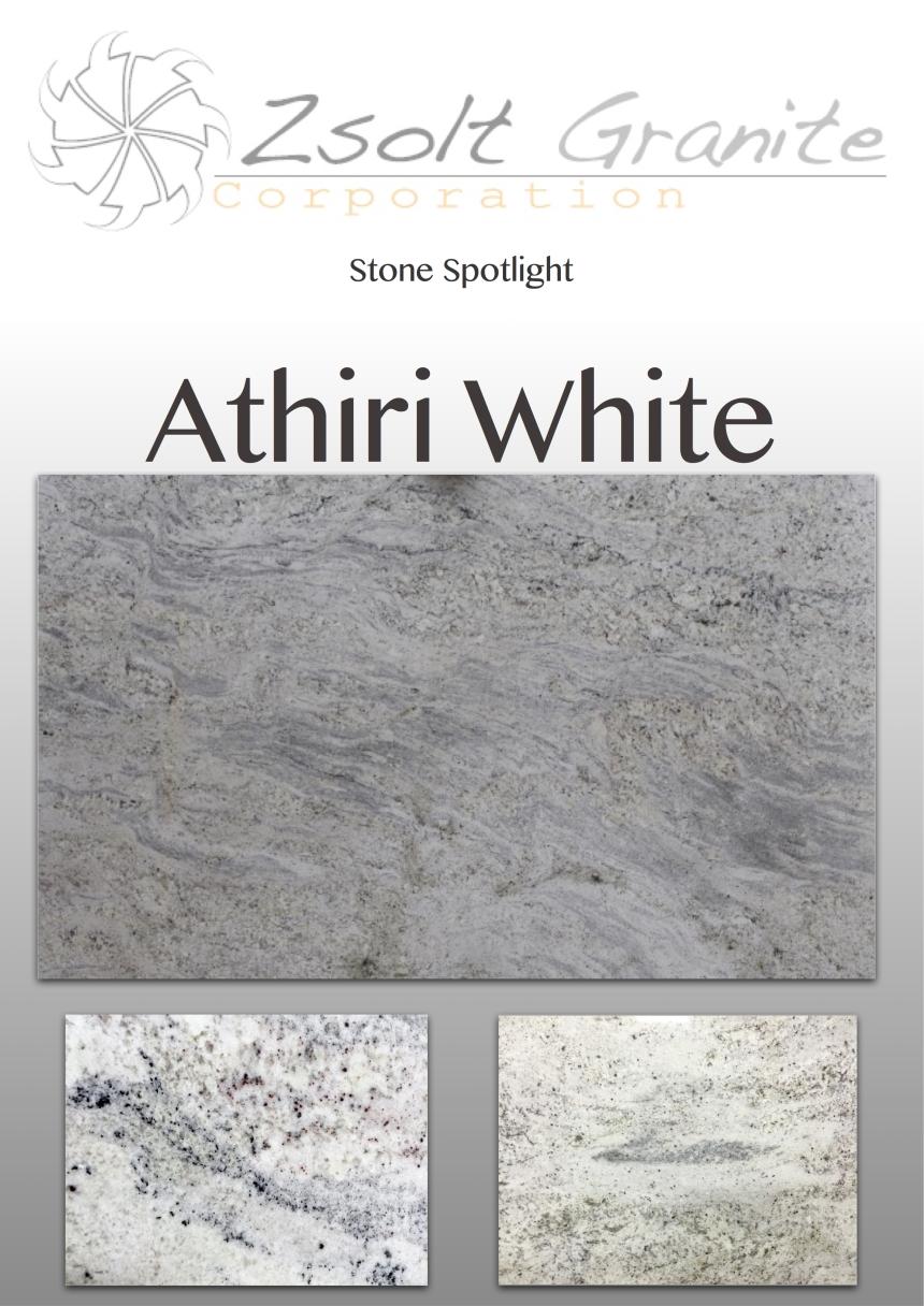 Athiri White Stone Spotlight